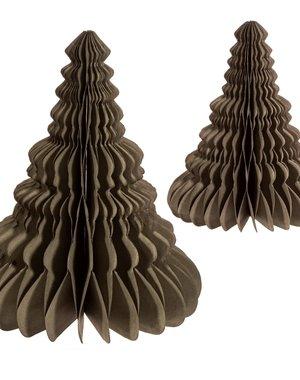 Sass & Belle Grey Honeycomb Tree Standing Decoration Set 2