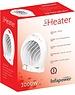 Infapower White Upright Fan Heater 2000w