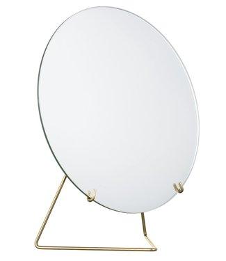 Moebe Moebe Mirror 20cm Brass
