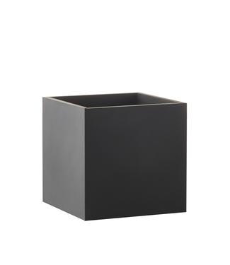 SEJ Design SEJ Design Square Flowerpot Black