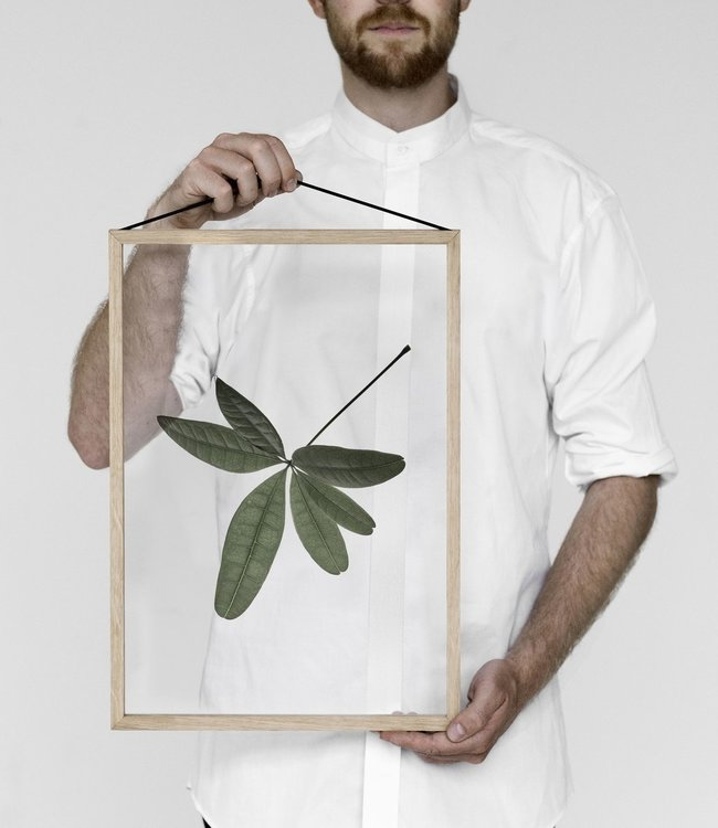 Moebe Moebe Floating Leaves Transparant print 06