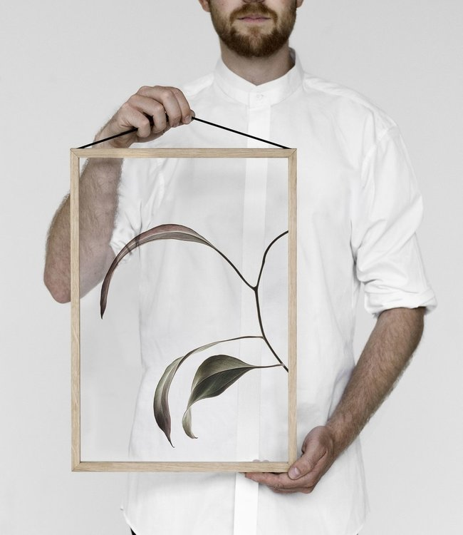 Moebe Moebe Floating Leaves Transparant print 07