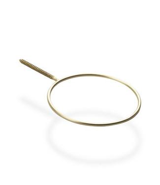 Scandinaviaform Scandinavia Form Botanic Ring Brass Medium