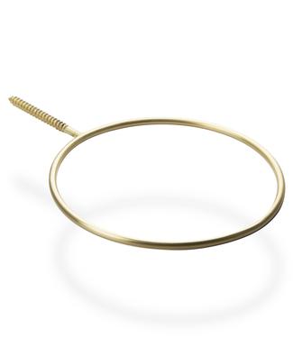 Scandinaviaform Scandinavia Form Botanic Ring Brass Large