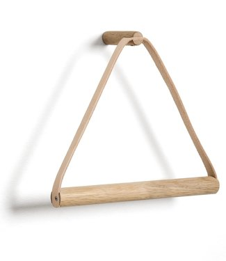 by Wirth by Wirth Towel Hanger Soap Treated Oak