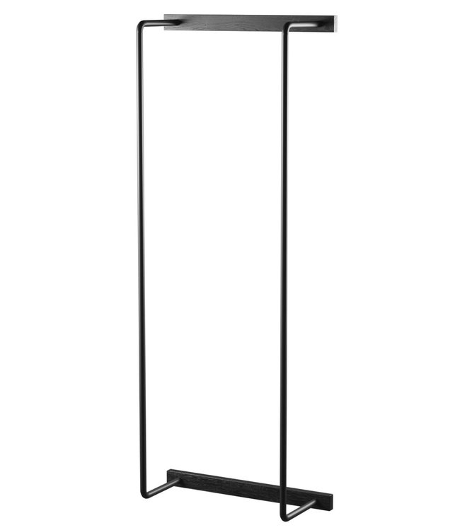 by Wirth by Wirth Towel Rack Black Oak