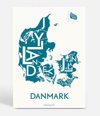 Kortkartellet Kortkartellet Poster Danmark Petrol