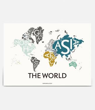 Kortkartellet Kortkartellet Poster The World Special Edition