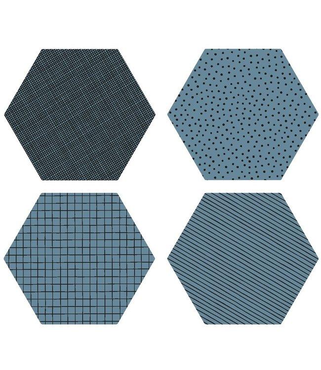 Salontafel Zweeds Design.Siliconen Glas Onderzetters Set Anti Slip Zweeds Design By