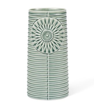Dottir Dottir Vase Pipanella Lines Green (Large)