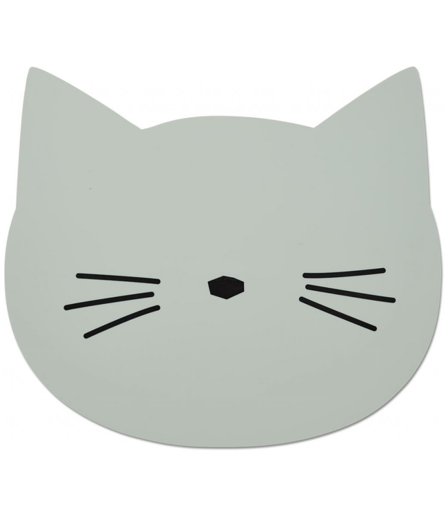 Liewood Liewood Siliconen Kat Placemat Mint