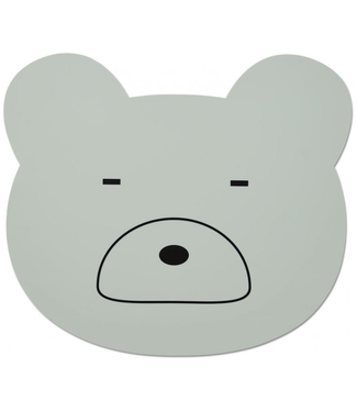 Liewood Liewood Silicone Placemat Bear Mint