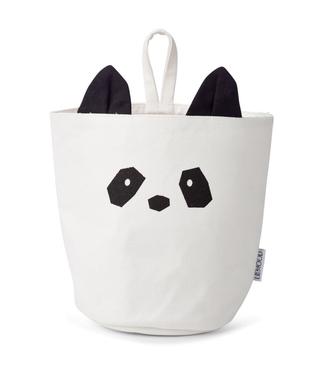 Liewood Liewood  Storage Basket Panda with a Loop