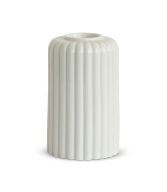 Dottir Dottir Candle stick Alba Six White
