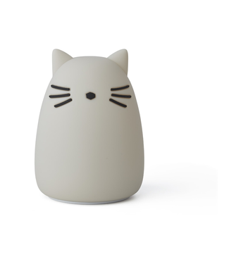 Liewood Night Light Cat Grey from Liewood
