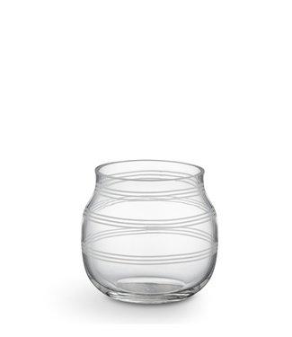 Kähler Design Kähler Design Omaggio Theelichthouder Glas H75mm
