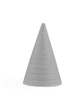 Kähler Design Kähler Design Glazed Cone Matt grey H110mm