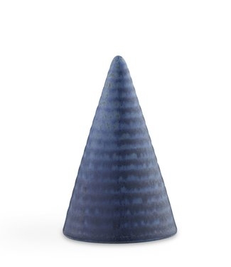 Kähler Design Kähler Design Cone Blauw Geglazuurde Kegel H110mm