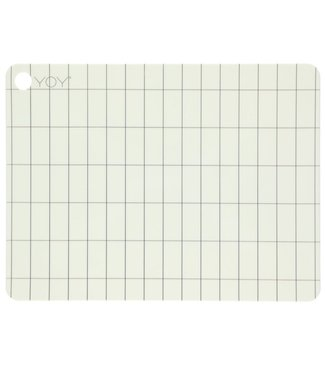 OYOY OYOY Placemat Kukei Offwhite Rectangle