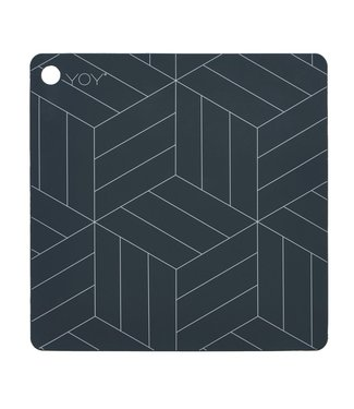 OYOY OYOY Placemat Square Grey