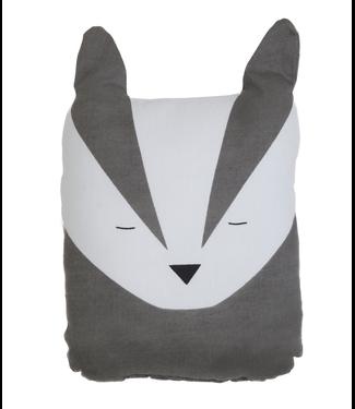 Fabelab Fabelab Animal Cushion Bold Badger