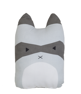Fabelab Fabelab Animal Cushion Rascal Racoon