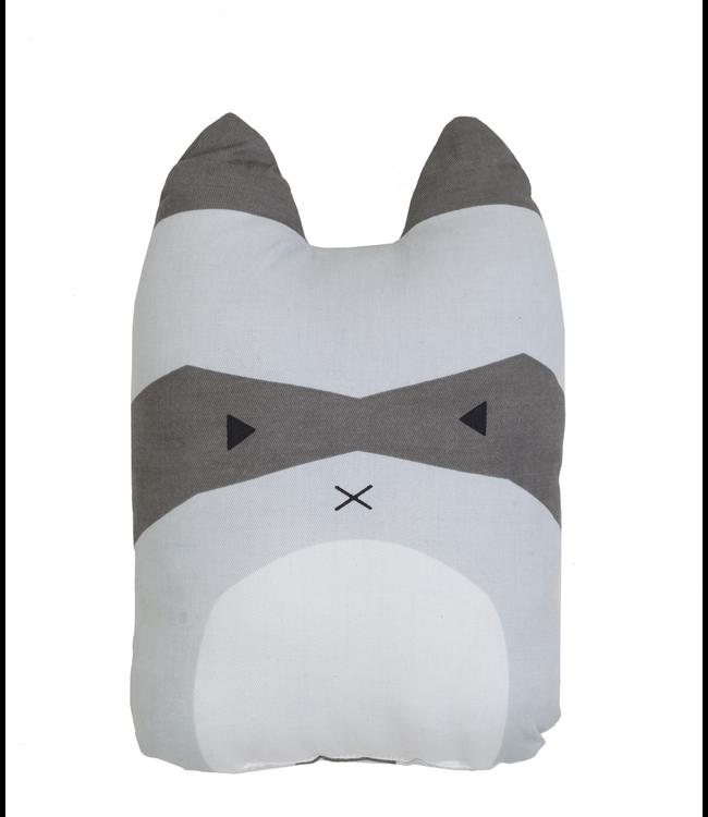 Fabelab Fabelab Animal Cushion Rascal Racoon