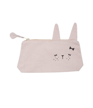 Fabelab Fabelab Pencil Case Cute Bunny Pink