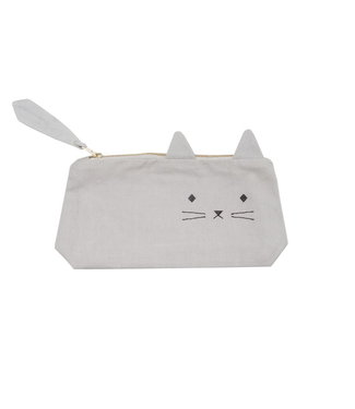 Fabelab Fabelab Pencil Case Cuddly Cat Grey