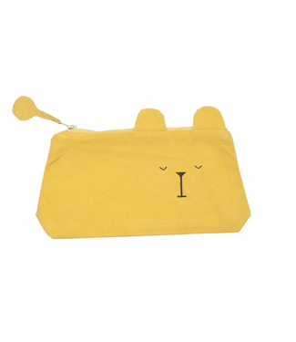 Fabelab Fabelab Pencil Case Laze Bear Honey