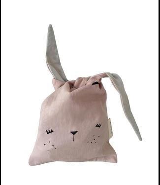 Fabelab Fabelab Lunchzakje Bunny Mauve