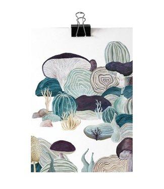 IMIForm IMIform A5 Mini Poster Mushroom