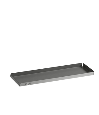 NUR NUR Tray Long Anthracite