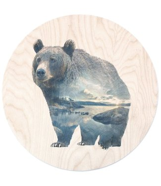 Faunascapes Faunascapes Birch Plywood Bear