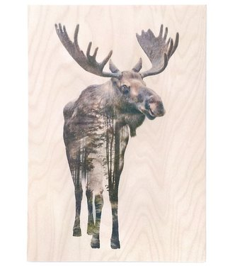 Faunascapes Faunascapes Birch Plywood Moose