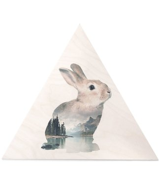 Faunascapes Faunascapes Birch Plywood Rabbit