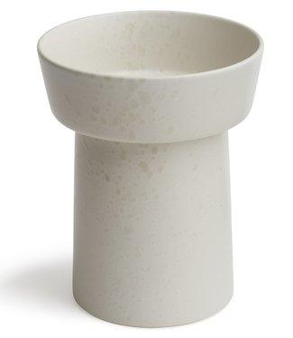 Kähler Design Kähler Design Ombria Vaas Gebroken wit H20cm