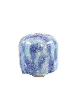 Studio Arhoj Studio Arhoj Hana Vase Ume Blue Turquoise Small