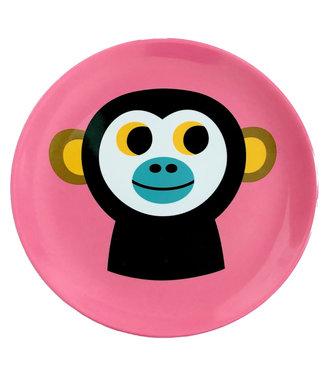 OMM Design OMM design Monkey Melamine Plate