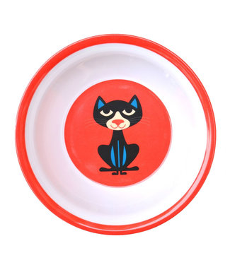 OMM Design OMM design Cat Red Melamine Bowl