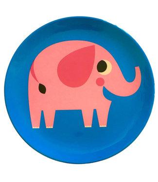 OMM Design OMM design Elephant Melamine Plate