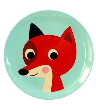 OMM Design OMM design Fox Mint Melamine Plate
