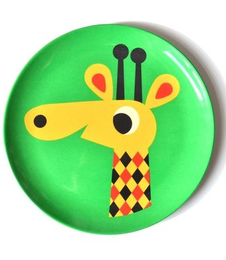 OMM Design OMM design Giraffe Melamine Plate