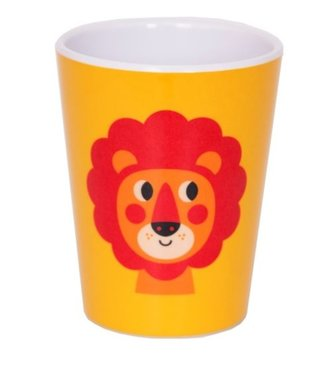 OMM Design OMM design Lion Yellow Melamine Cup