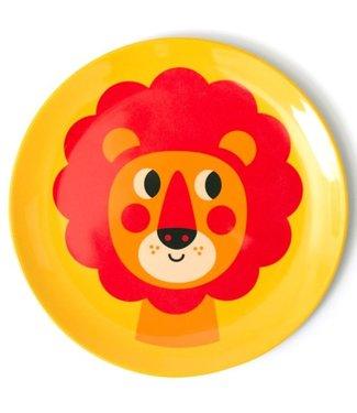 OMM Design OMM design Lion Yellow Melamine Plate
