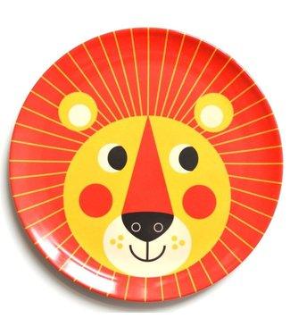 OMM Design OMM design Lion Orange Melamine Plate