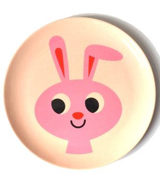 OMM Design OMM design Rabbit Melamine Plate