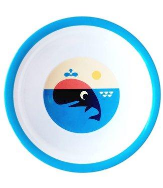 OMM Design OMM design Whale Melamine Bowl
