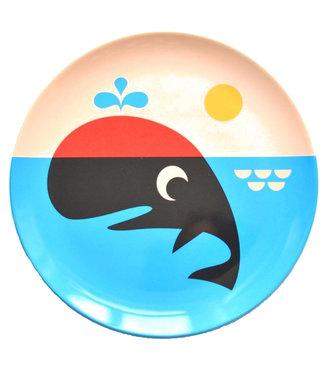 OMM Design OMM design Whale Melamine Plate