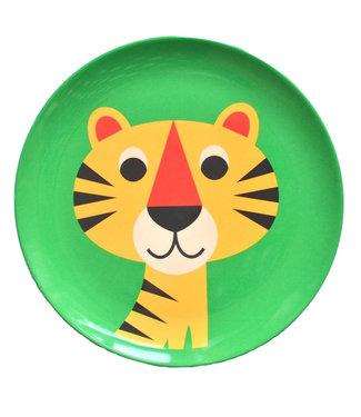 OMM Design OMM design Tiger Green Melamine Plate